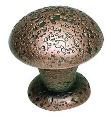 Olde World Knob 1 3/8 Inch - Copper