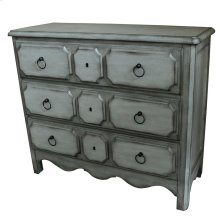 St. James Two Tone 3 Drawer Raised Panel Chest
