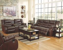 Linebacker DuraBlend® - Espresso 4 Piece Living Room Set