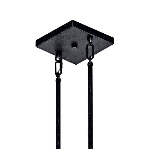 Colerne Collection Colerne 5 Light Linear Chandelier - AUB AUB