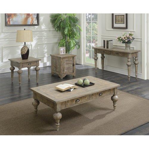 Emerald Home Interlude Sofa Table-sandstone Finish T560-02-05