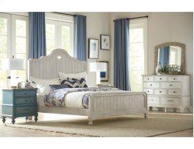 Laurel Panel King Bed Complete