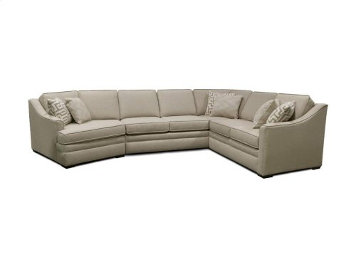 Thomas Sectional 4T00-Sect in Grande Linen