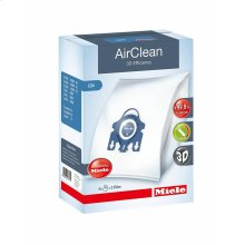 GN AirClean 3D AirClean 3D Efficiency GN dustbags ensures that dust picked up stays inside the machine.