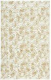 Luxe Shag Artic Cream Machine Woven Rugs