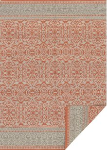 Mh Persimmon / Grey Rug