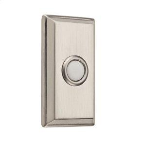 Satin Nickel BR7015 Rectangular Bell Button