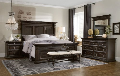 Treviso King Panel Bed