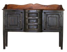 Black/Walnut Henriette Sideboard