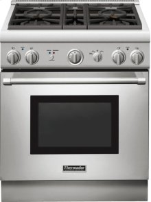 30 inch Professional Series Pro Harmony Standard Depth All Gas Range PRG304GH