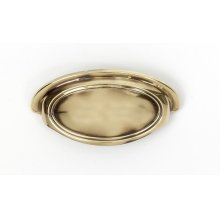 Classic Traditional Cup Pull A1570-3 - Polished Antique