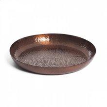 Round Hammered Plate