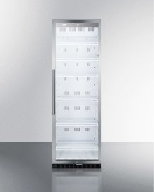 Commercial Beverage Merchandiser With 12.6 CU.FT. Capacity, Digital Thermostat and Self-closing Door; Replaces Scr1400