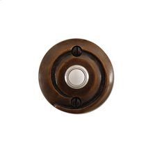 Solid Bronze Art Nouveau Door Bell Button
