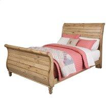 Sleigh Queen Bed - Complete