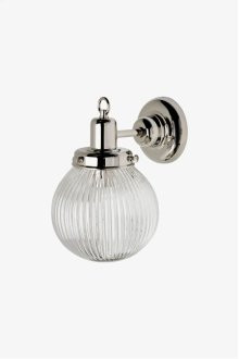 Aurora Wall Mounted Single Arm Sconce with Glass Shade STYLE: AALT02