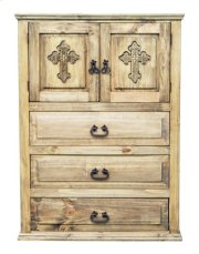 Econo 2door 3drawer Chest Crs Product Image