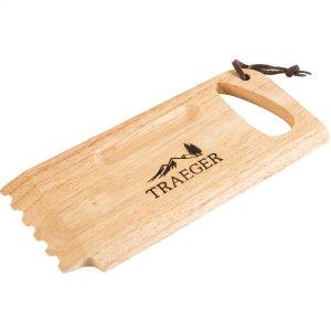 Wooden Grill Grate Scrape -