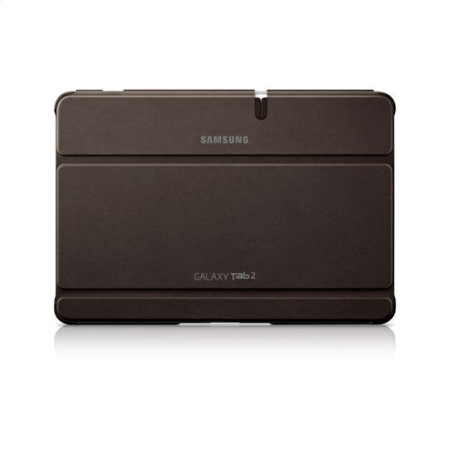 Galaxy Tab 2 10.1 Magnetic Book Cover, Brown