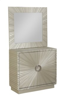 Cabinet and Mirror