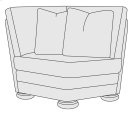 Foster Corner Chair Product Image