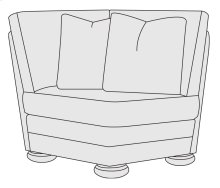 Foster Corner Chair