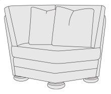 Foster Corner Chair