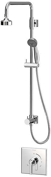 Symmons Duro® Shower/Hand Shower System - Polished Chrome