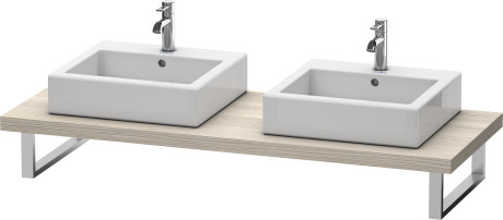 Console For Above-counter Basin And Vanity Basin, Pine Silver (decor)