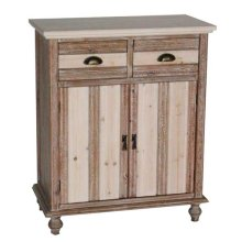 2-DOOR / 2-DRAWER CABINET