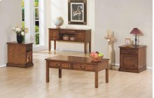 2-Drawer Coffee Table, 1-Drawer End Table $210.00, Sofa Table/Writing Desk $460.00 and Chairside Table $210.00