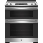 "30"" Slide-In Electric Convection Double Oven Range"