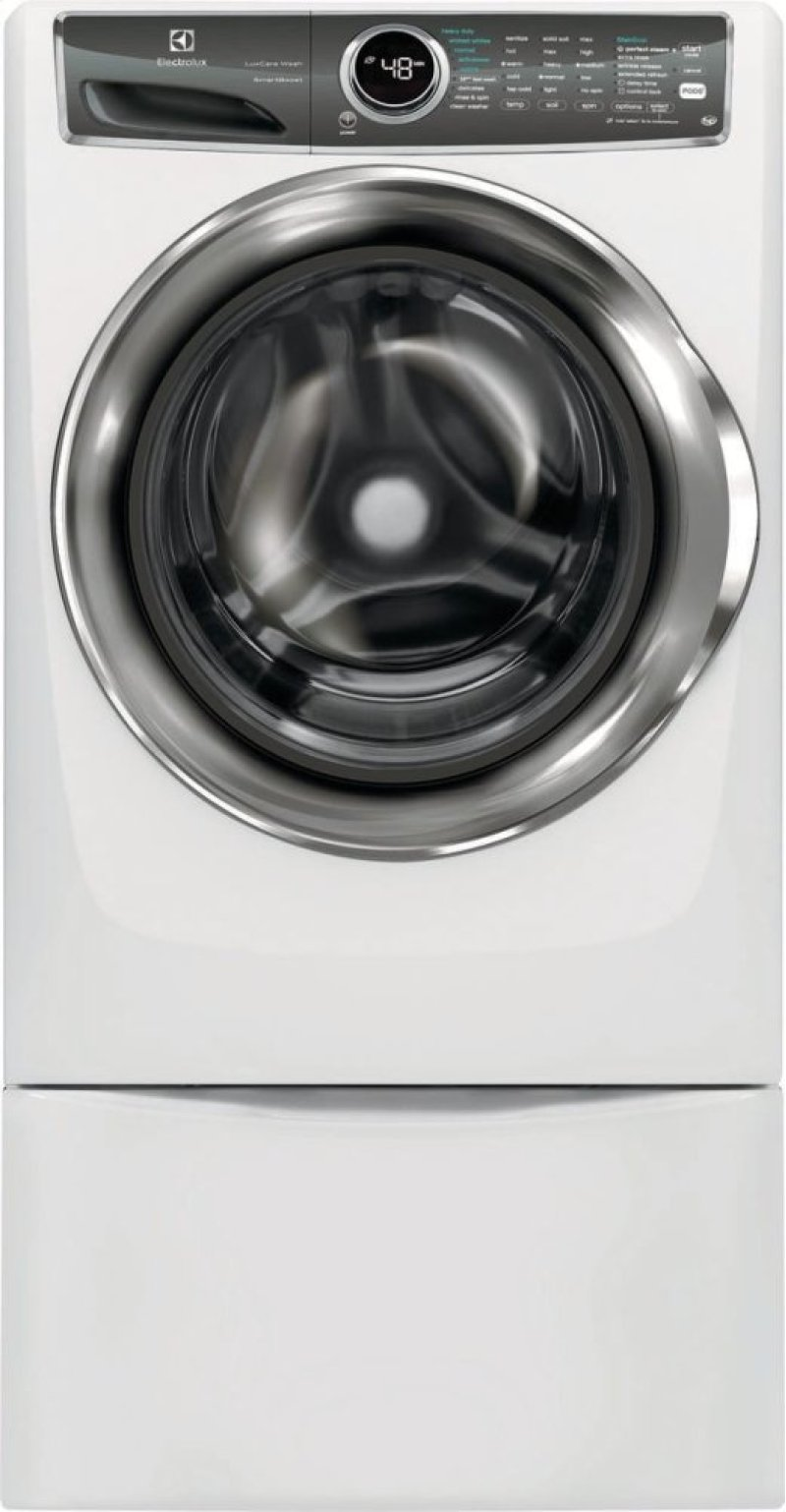 Front Load Perfect Steam Washer With Luxcare Wash And Smartboost 4