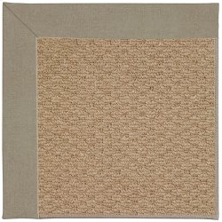 Creative Concepts-Raffia Canvas Taupe Machine Tufted Rugs