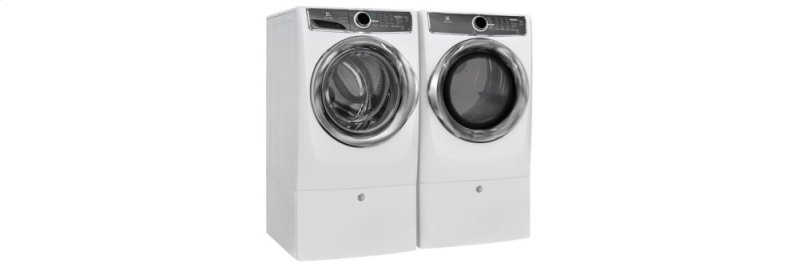 Front Load Perfect Steam Gas Dryer with Instant Refresh and 9 cycles - 8 0   Cu  Ft