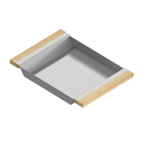 Tray 205332 - Stainless steel sink accessory , Maple
