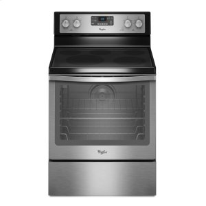 WHIRLPOOL6.2 cu. ft. Capacity Electric Range with AquaLift(R) Self-Clean Technology