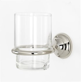 Royale Tumbler Holder A6670 - Polished Nickel