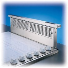 """30"""" Wide Rear Downdraft with Controls on Intake Top - VIPR (30"""" width)"""