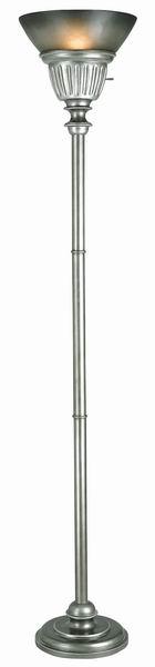 150W 3 way La Pal resin/metal Torchiere