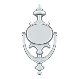 Door Knocker, Imperial - Polished Chrome