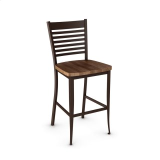 Edwin Non Swivel Stool (wood)