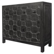 Silvestro Distressed Sideboard 2 Drawers + 2 Doors, Antique Black Product Image