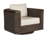 Brentwood Wicker Swivel Rocking Club Chair Product Image