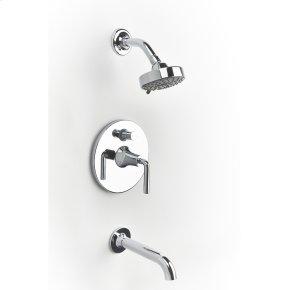 Polished Chrome River (Series 17) Tub and Shower Trim