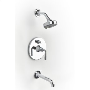 Polished Chrome River (Series 17) Tub and Shower Trim