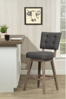 Lanning Swivel Stool - Black