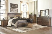 Lakeleigh - Brown 5 Piece Bedroom Set