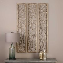 Scribble Metal Wall Panel