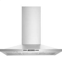 "Euro-Style Wall-Mount Canopy Hood, 30"", Euro-Style Stainless Handle"
